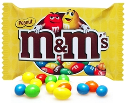 Advertising image for M&M's